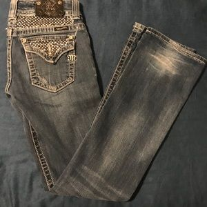 Miss Me jeans, size 28, bootcut